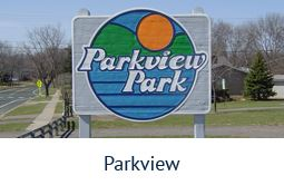 Parkview Park sign