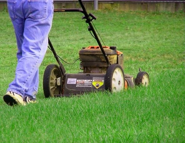 chores mowing lawn smaller