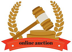 online auction image with mallet